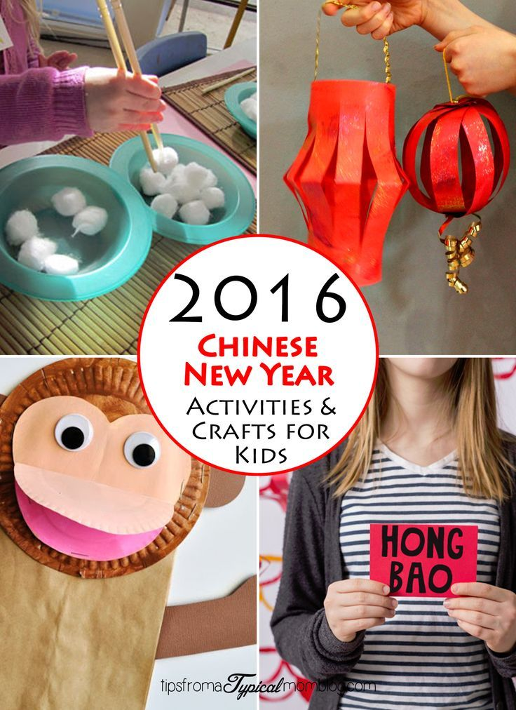 2016 Chinese New Year Crafts for Kids
