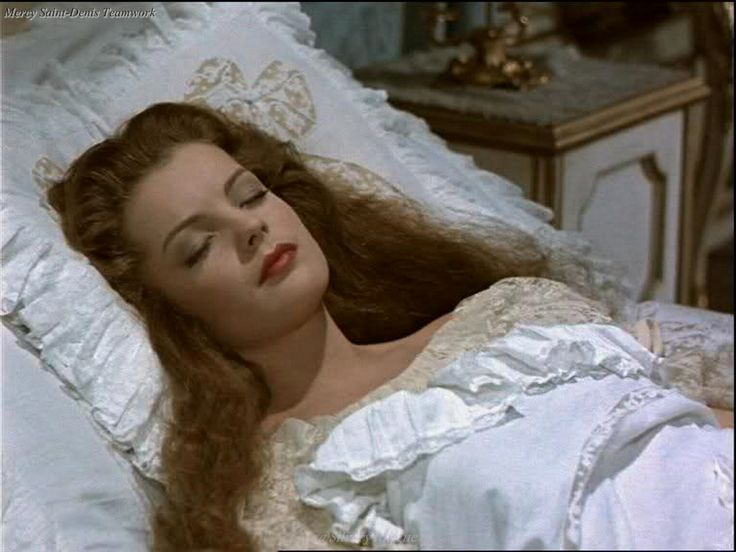 Romy Schneider as Elisabeth of Austria in Sissi (2)