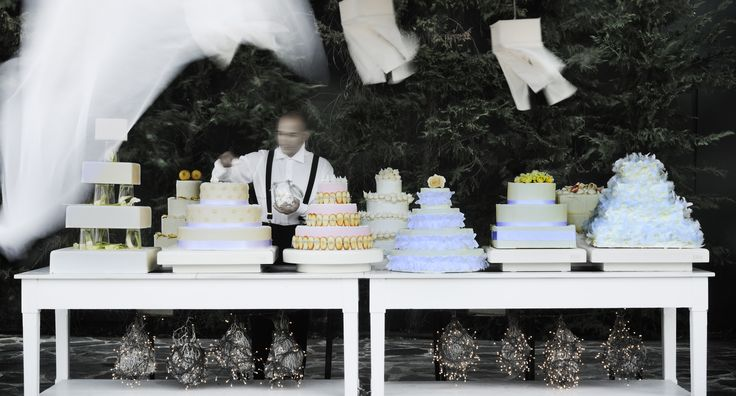 Variety of cakes and sweets for your wedding by #ARIAFineCatering