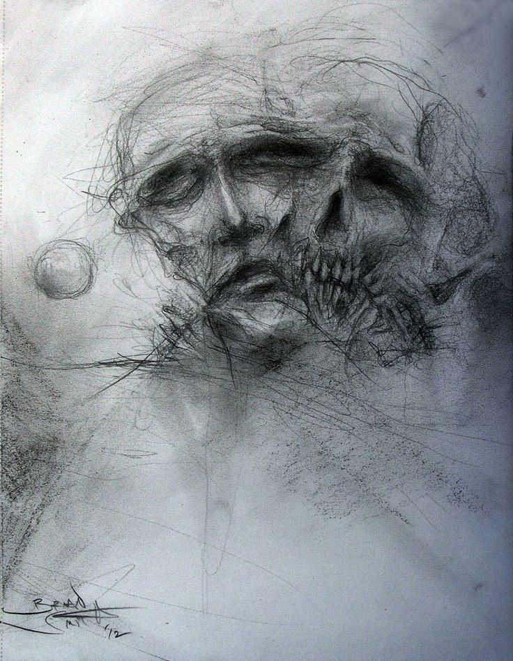 Мрачные картинки карандашом