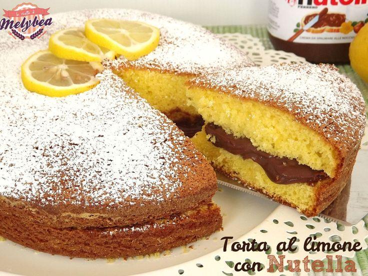 torta al limone con nutella