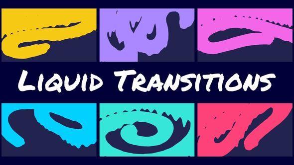 Liquid Transitions   Creative Intelligence   Motion graphics