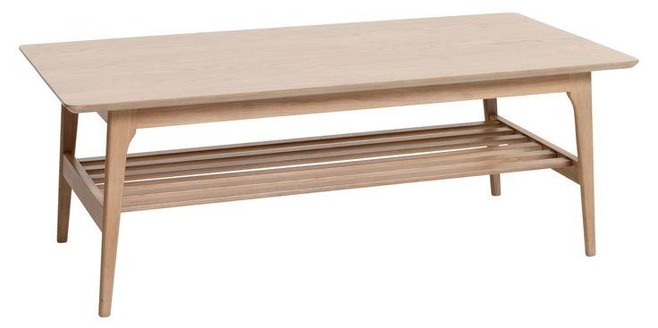 Sofabord KALBY 60x120cm lys eg   JYSK