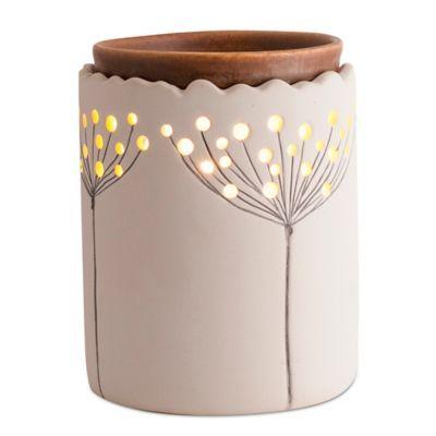 AmbiEscents Dandelion Ceramic Wax Warmer - Bed Bath & Beyond
