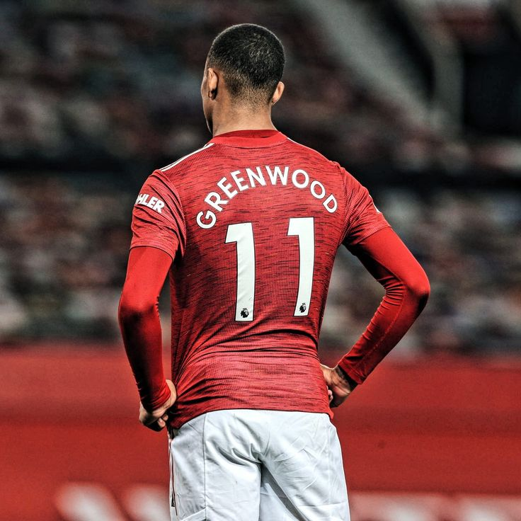 Mason Greenwood living the dream with Manchester United