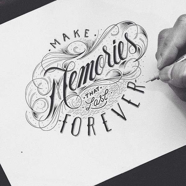 Typographie #2 : Lettering & Calligraphie | BlogDuWebdesign