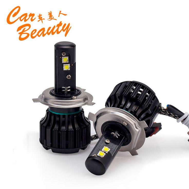 2015 Nuevo Diseño de Coches de Alta de luz de Cruce H4 Led Headlight 40 W niebla Lámpara de Xenón Kit de Luz LED Car-Styling H4 Bombillas LED Para coches