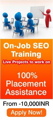 SEO Training in Delhi   OnJob Practical Training Program http://www.seoschooldelhi.com/seo-training/