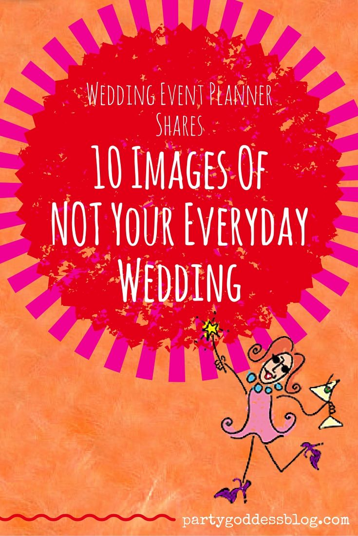 Wedding Event Planner Shares 10 Images Of NOT Your Everyday Wedding http://thepartygoddess.com/weekly-roundup-of-wedding-event-planners-10-images-of-not-your-everyday-wedding/ #eventplanner #bride #wedding