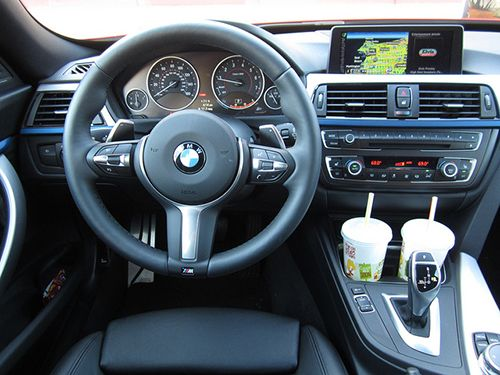 I like the view from behind the wheel of this 2014 BMW 328i Gran Turismo: