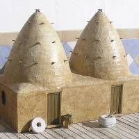 Houseland Parque Temático. Vivienda tradicional Yemen.