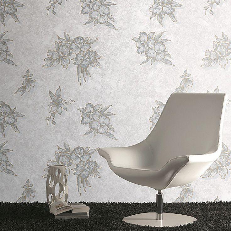 Naru | Coleção Bloom - Material: Papel Medidas: 10M X 0,70 CM www.narudecor.com.br | Papel de parede - revestimento