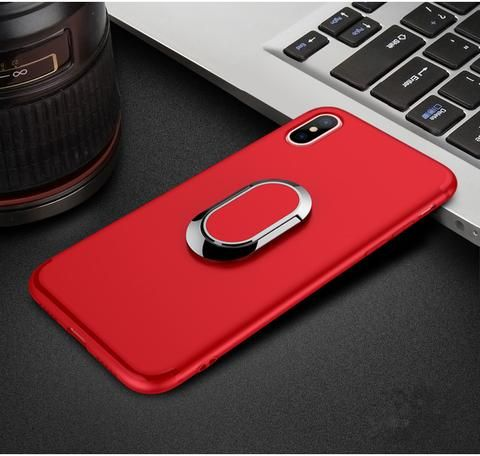 outlet store 02b78 0316a Luxury iphone x case with plating ring finger used as kickstand ...