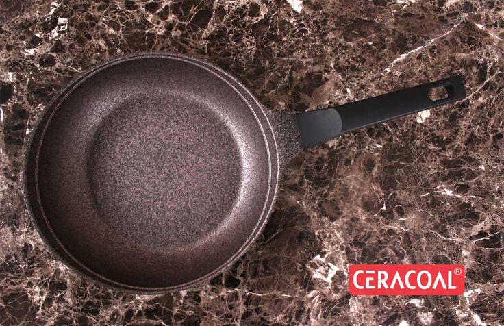 CERACOAL - Frypan | Superior nonstick coating | new trendy style | ergonomic design