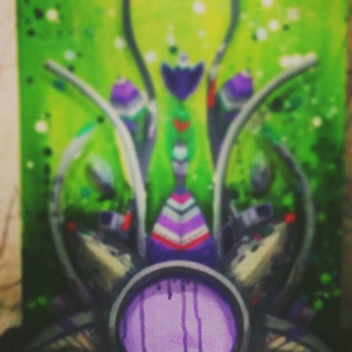 Finalizando. .. #canvases #tela #produção #tecnorganic #ixlutx #sr_ixlutx #tentaculos #tempo #função #fonte #escorreu #tecnicamista #mixedmedia #graffitisalvador #decor #decoração #design #designer #desenho #mundo #verde #violeta #lixoluxo #pelepreta #simetria #assimetria  #bahia #Brasil #profundidade