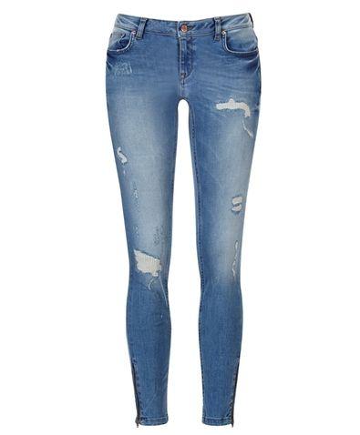 Gina Tricot -Kristen zip jeans