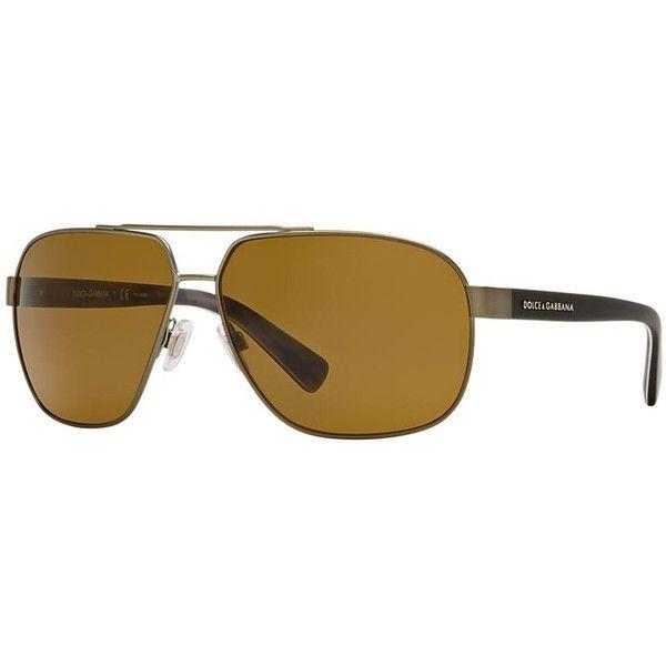 Dolce & Gabbana Gunmetal Matte Aviator Sunglasses - dg2140 (325 CAD) ❤ liked on Polyvore featuring men's fashion, men's accessories, men's eyewear, men's sunglasses, gunmetal, mens camo sunglasses and dolce gabbana mens sunglasses