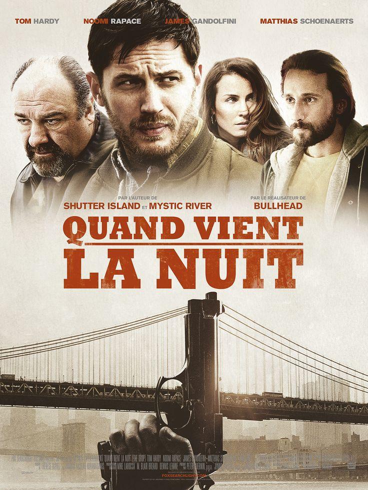 Quand vient la nuit (The Drop) - French Poster