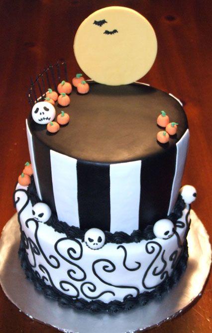 Awe Inspiring Simple Nightmare Before Christmas Birthday Cake Wttasx Personalised Birthday Cards Paralily Jamesorg