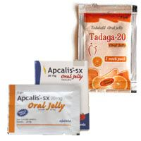 Buy Oral Jelly Trial Pack Online Apcalis oral jelly and tadalafil oral jelly - Jelly pack is the best oral solution for treating erectile dysfunction. Buy Oral Jelly ED Trial Pack, which is the best combination of Jelly versions of the worlds bestselling product generic Viagra and generic Cialis. Send an email to place your order at info@genericwelln...