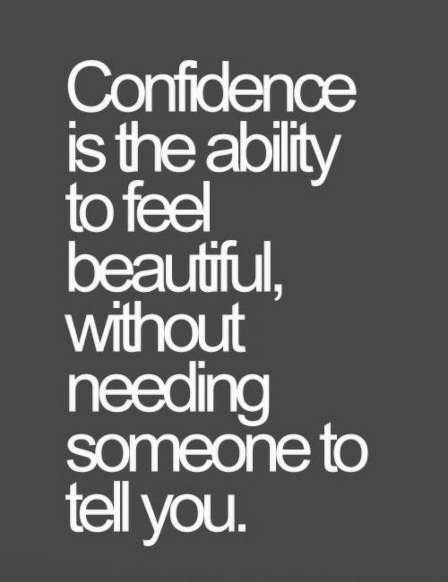 words that show confidence