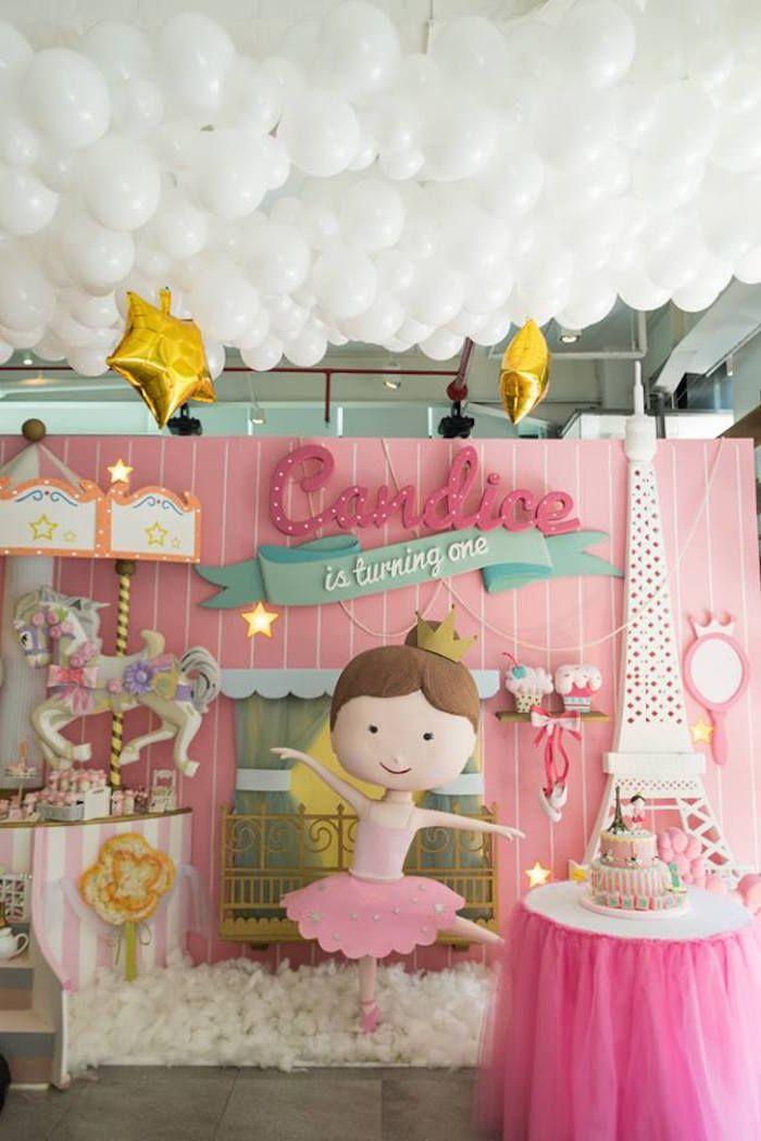 33 best ballerina baby shower images on pinterest for Ballerina decoration ideas