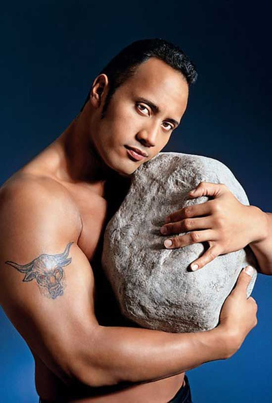 Dwayne Johnson | Rare celebrity photos