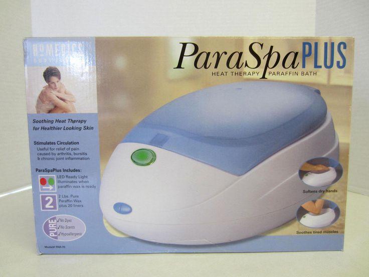how to use homedics paraffin wax bath