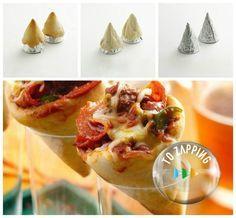 Cómo hacer un cono pizza. Queremos ofreceros la idea de hacer una pizza…