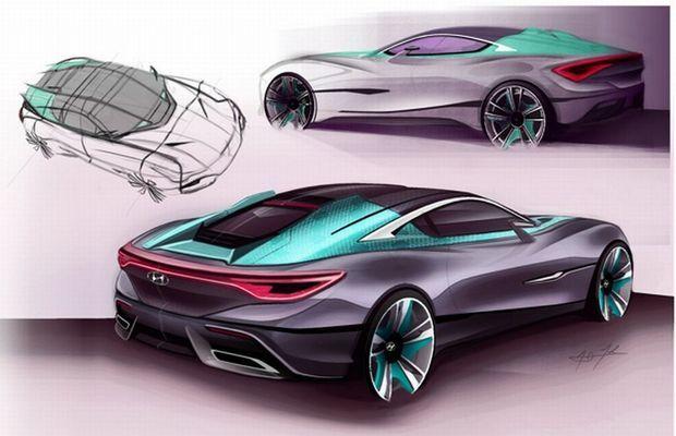 Hyundai i80: projeção revela um futuro cupê de luxo da marca coreana