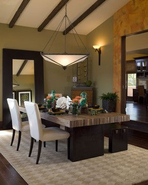 Enhancing A View Mediterranean Dining Room