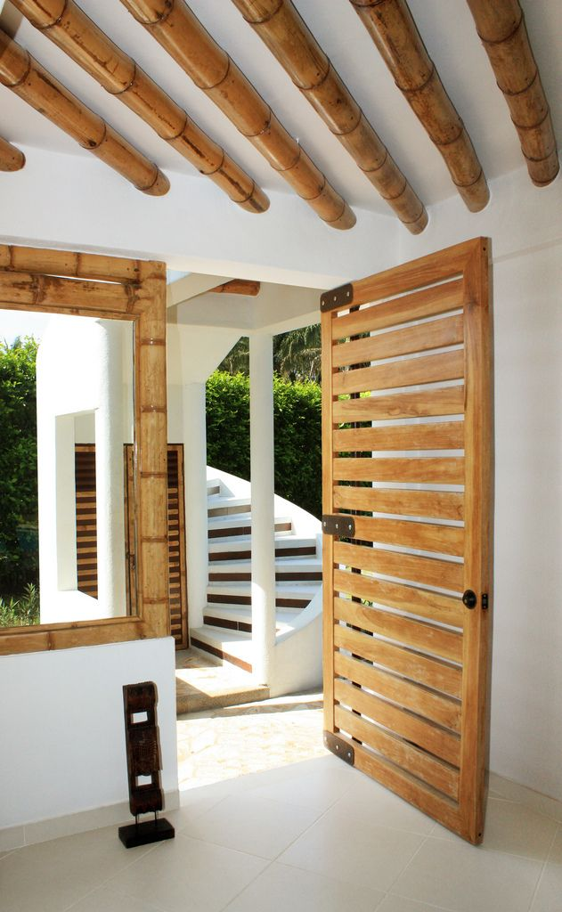 Guadua bamb bamb decoraci n bamb y decoracion interior - Cana bambu decoracion interior ...