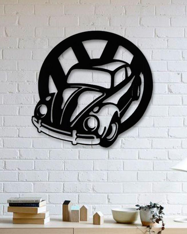 Unique Custom Designed Wall Decoration Product Volkswagen Beetle Metal Wall Art Metal Wall Decor Metal Wall Art Wall Accessories