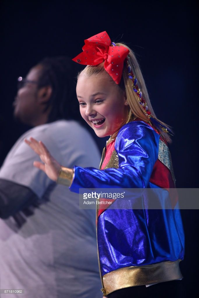Nickelodeon talent, New York Times bestselling author, YouTube sensation, singer, dancer, actress and ambassador of anti-bullying, JoJo Siwa, co-hosts WE Day in front 18,000 youth and educators at WE Day Minnesota on November 8, 2017, at Xcel Energy Center in St Paul, Minnesota.