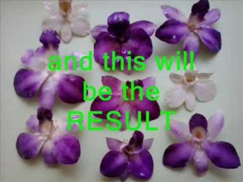 Resin coating real Orchids Here's how to - YouTube