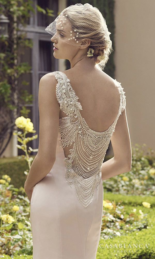 """Gown of the Week: @casablancabride """"Primrose"""". Primrose features a delicately…"""