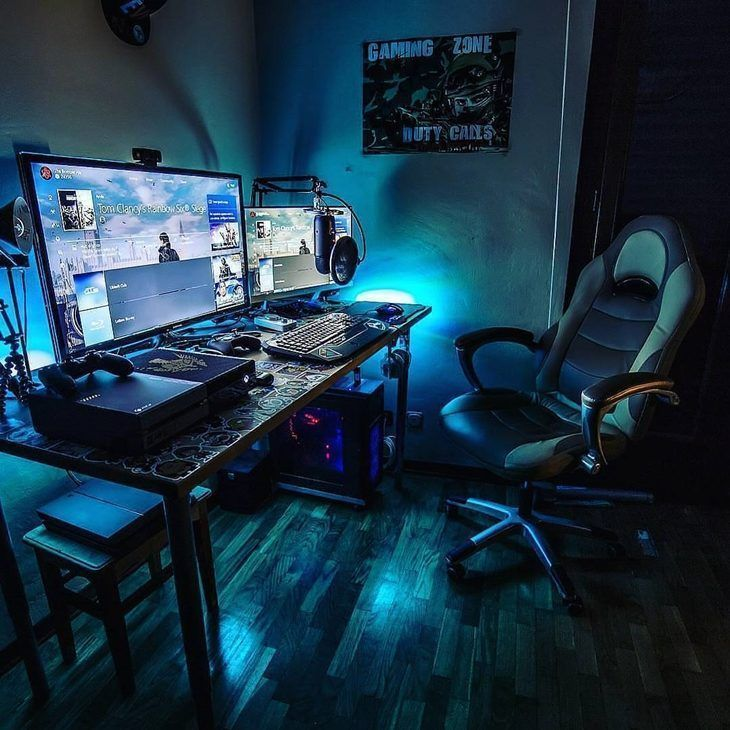 33 The Best Gaming Setup For Amazing Rooms