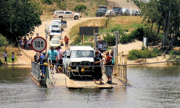 Malgas pont - close to Witsand in the Southern Cape area - Western Cape - South Africa.