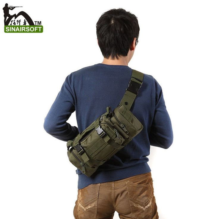 High Quality Outdoor Military Tactical Backpack Waist Pack Mochilas Molle Camping Hiking Pouch Bag G#J6