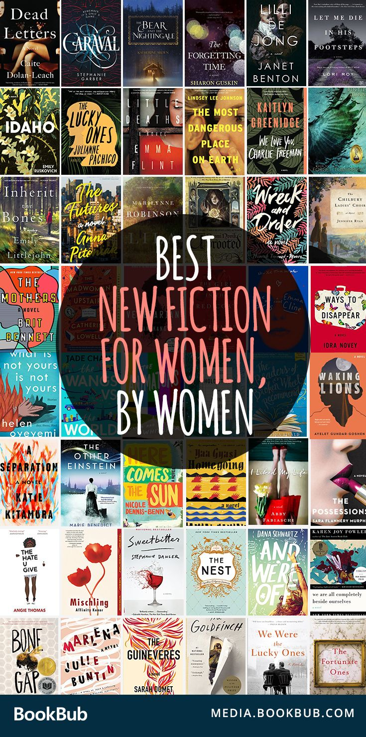Check out these new books to read for women. These must-read novels feature a mix of historical fiction, young adult fiction, suspenseful thriller books, and more.