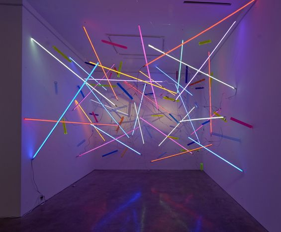 Adela Andea's Otherworldly Light Installations