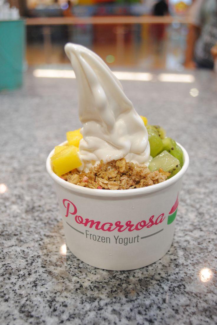 Pomarrosa el mejor lugar para saborear lo delicioso. #pomarrosalover #frozenyogurt #yogurtcongelado #elplacerdecomersano #dessert #postre