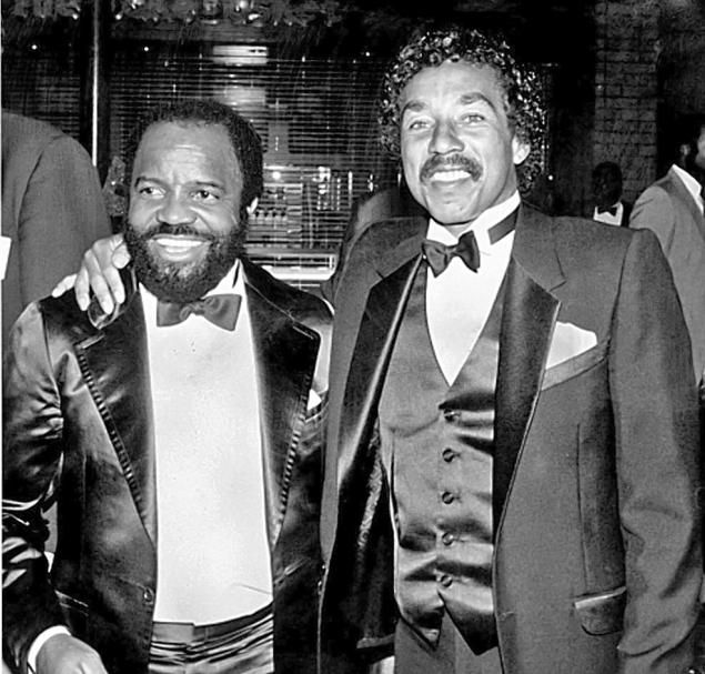 Berry Gordy and Smokey Robinson
