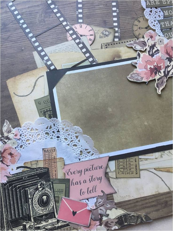KEEPSAKE layout by Michelle van Wyk The Offical South Africa KAISERCRAFT Scrapbooking Kit Club