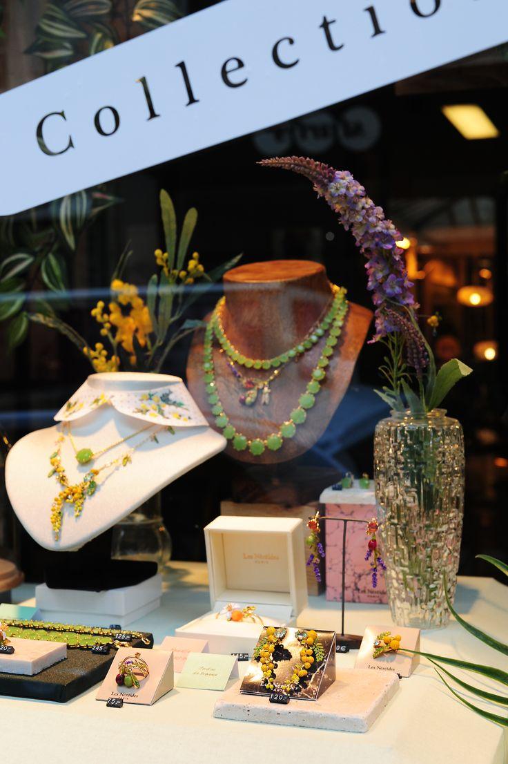 Nouvelle collection Jardin de Provence, Les Néréides Paris, bijoux fantaisies, printemps été