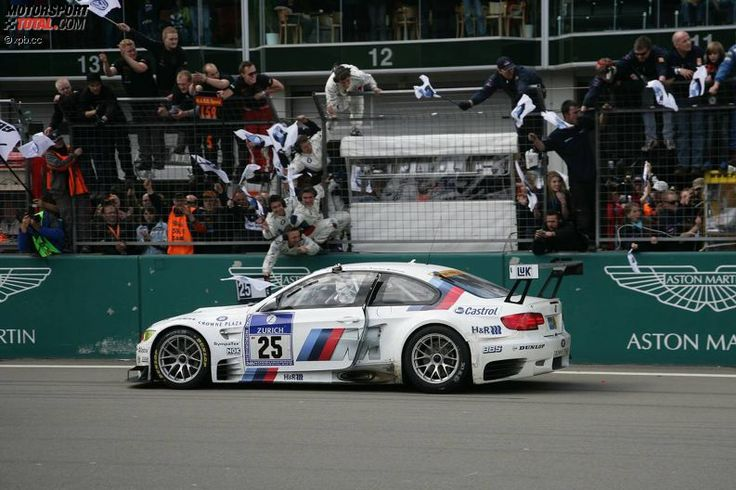 Winners of the 24 Hours Race at the Nürburgring – 2010: Lamy/Farfus/Alzen/Müller - BMW M3 GT2
