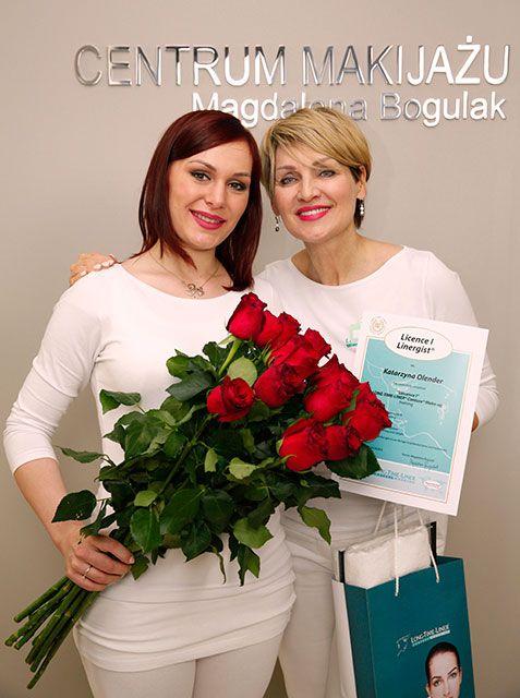 Katarzyna Olender, Szkolenie Long-Time-Liner, kurs makijażu permanentnego, Licencja I, październik 2016