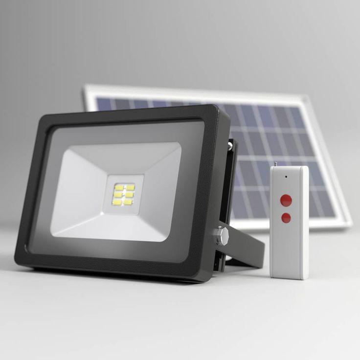 EVO SMD Remote Controlled Solar Floodlight