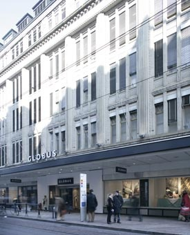 Globus Genève delicatessen !