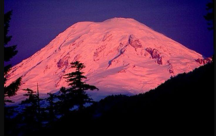 Monte Rainier estado de Washington EE UU